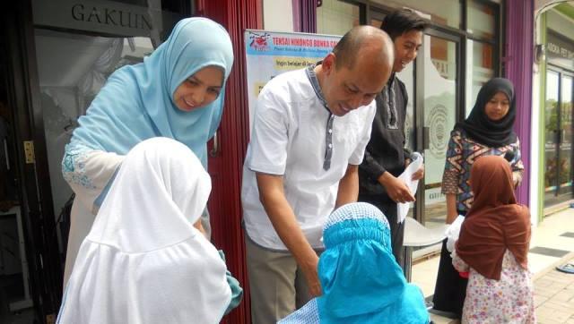 Galeri Kegiatan Lembaga Kursus Bahasa Jepang Tensai Karawang - Tensai Indonesia - Kursus dan Penerjemah Bahasa Jepang - Santunan Anak Yatim