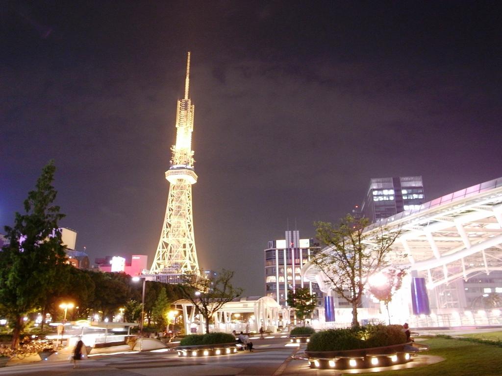 Nagoya TV Tower Menara Tertua di Jepang