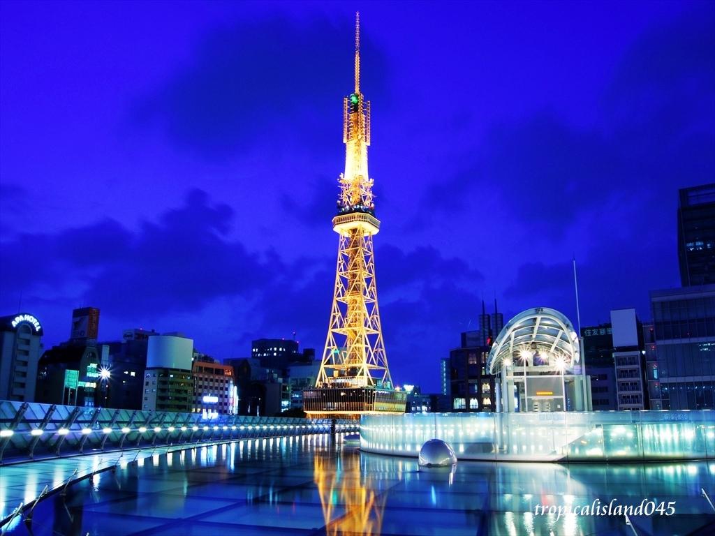 Nagoya TV Tower Menara Tertua di Jepang 2- www.flickr