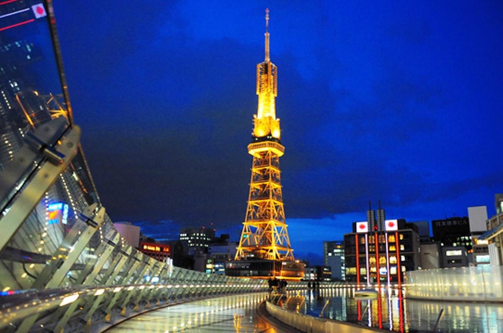 Nagoya TV Tower Menara Tertua di Jepang - jepang.panduanwisata.id