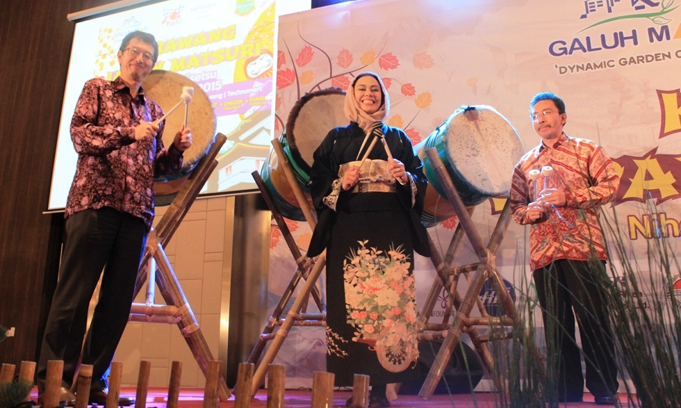Opening Ceremony Karawang Japan Matsuri Tensai 2015