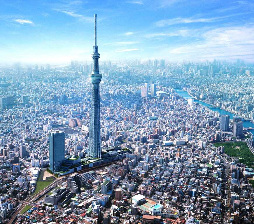 Tokyo Skytree - Tokyo Skytree - www.seejapan.co.uk - kursus bahasa jepang