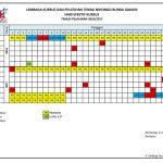Kalender Tensai 2016 – 2017