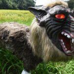 Robot Monster Serigala Super Penjaga Lahan Pertanian Jepang