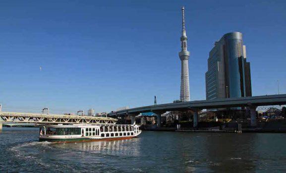 10 Spot Foto Fantastik di Sungai Sumida Tokyo