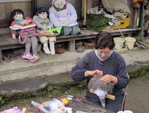 Kampung Boneka di Jepang