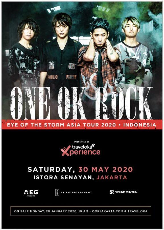 ONE OK ROCK Jakarta 2020